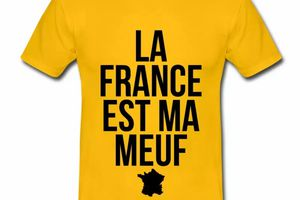 T shirt France Humour La France est ma meuf HJN