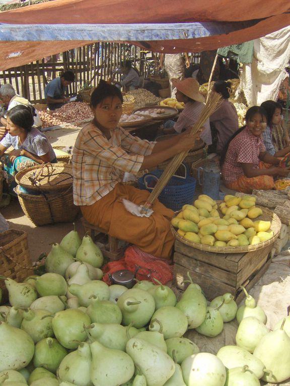 Album - MYANMAR---AU-MARCHE-A-BAGAN