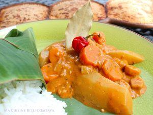 Mafé Kandja ou Sauce d'arachide aux Gombos- (Afrique de l'ouest)-Végétarien