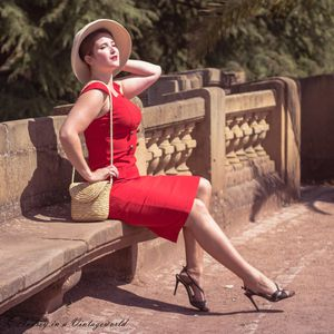 Audrey in a Vintageworld