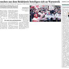 Walsroder Zeitung 10.3.12 -- ÖD-Warnstreik im Heidekreis