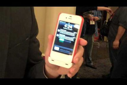 Boost Case Hybrid Extended iPhone Battery Demoed at CES 2012