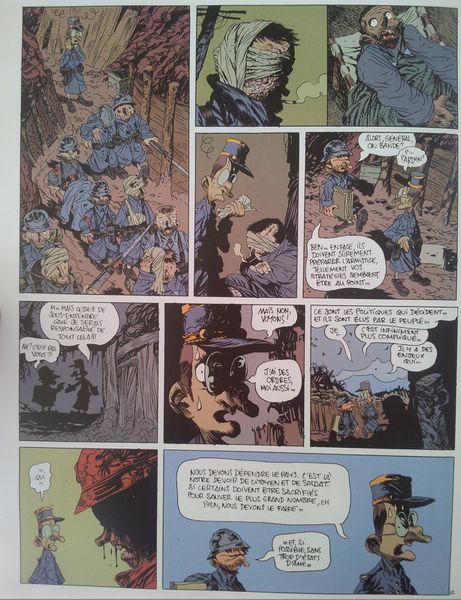 La ligne de Front. Une aventure rocambolesque de Vincent van Gogh. Manu LARCENET. (BD)