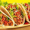 Tacos aux boeuf et aux riz