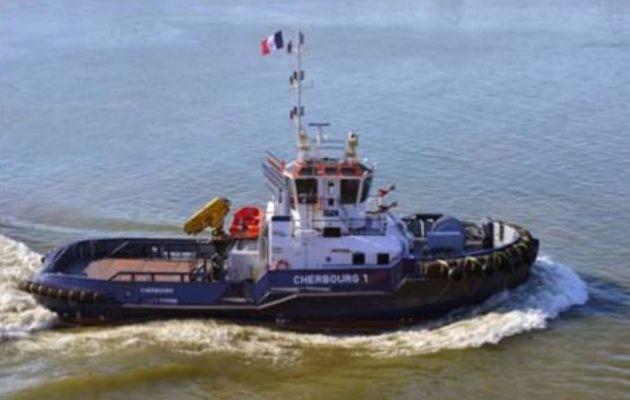 La CCI Caen Normandie acquiert un nouveau remorqueur pour le Port de Cherbourg (50)