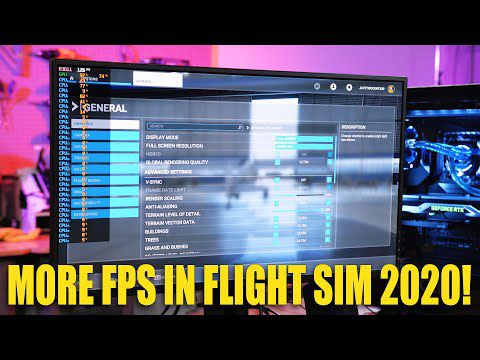 How to get better performance in Flight Simulator 2020