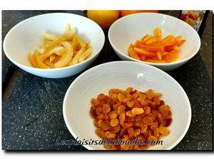 Panettone aux fruits confits.