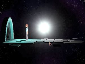 I wish I could find a meaning to the different designs of the gateway to infinity but... no I can't. Apart from the obvious opposition between lightdoor+stone and waterdoor+metal (Deception).