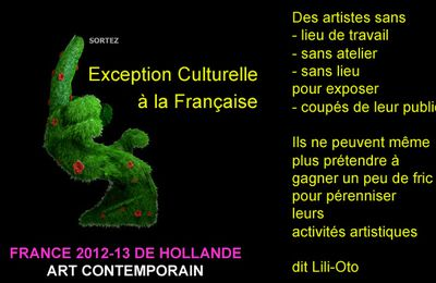 Artiste engagé et politique en France en art contemporain