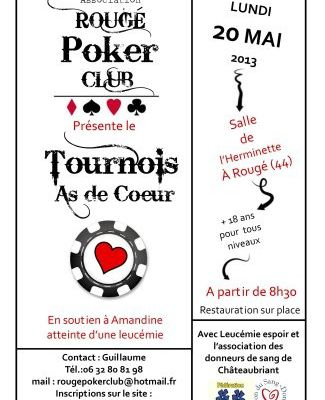 Tournoi à Rougé (44), lundi 20 mai