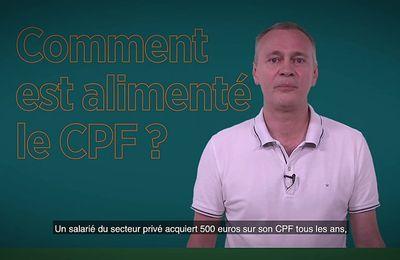 CQFdt - Le Compte Personnel de Formation (CPF)