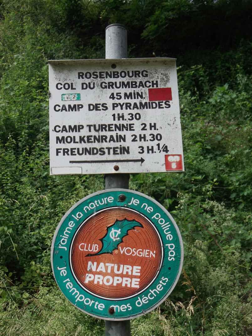 THANN : BALADE À LA ROCHE ALBERT (R 431) - 8,8 km - D+ 354 m - 2 h 45 mn – 2,5/6