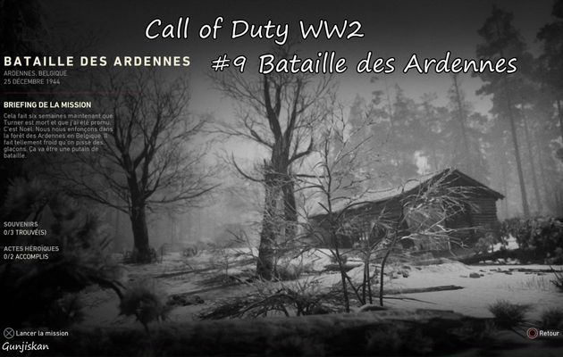 [Let's Play] Call Of Duty WW2 : Bataille des Ardennes