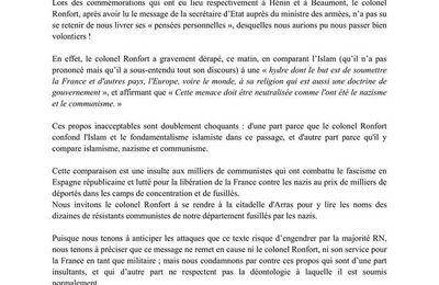 L'armistice à Hénin-Beaumont : commémorations et dérapages