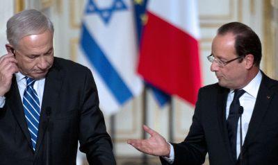 Hollande-Nétanyahou : le malaise...