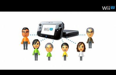 Premieres images du Miiverse et de l'interface Wii U