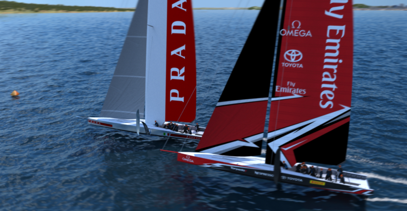 America's Cup 2021 – Team New Zealand launch Te Rehutai