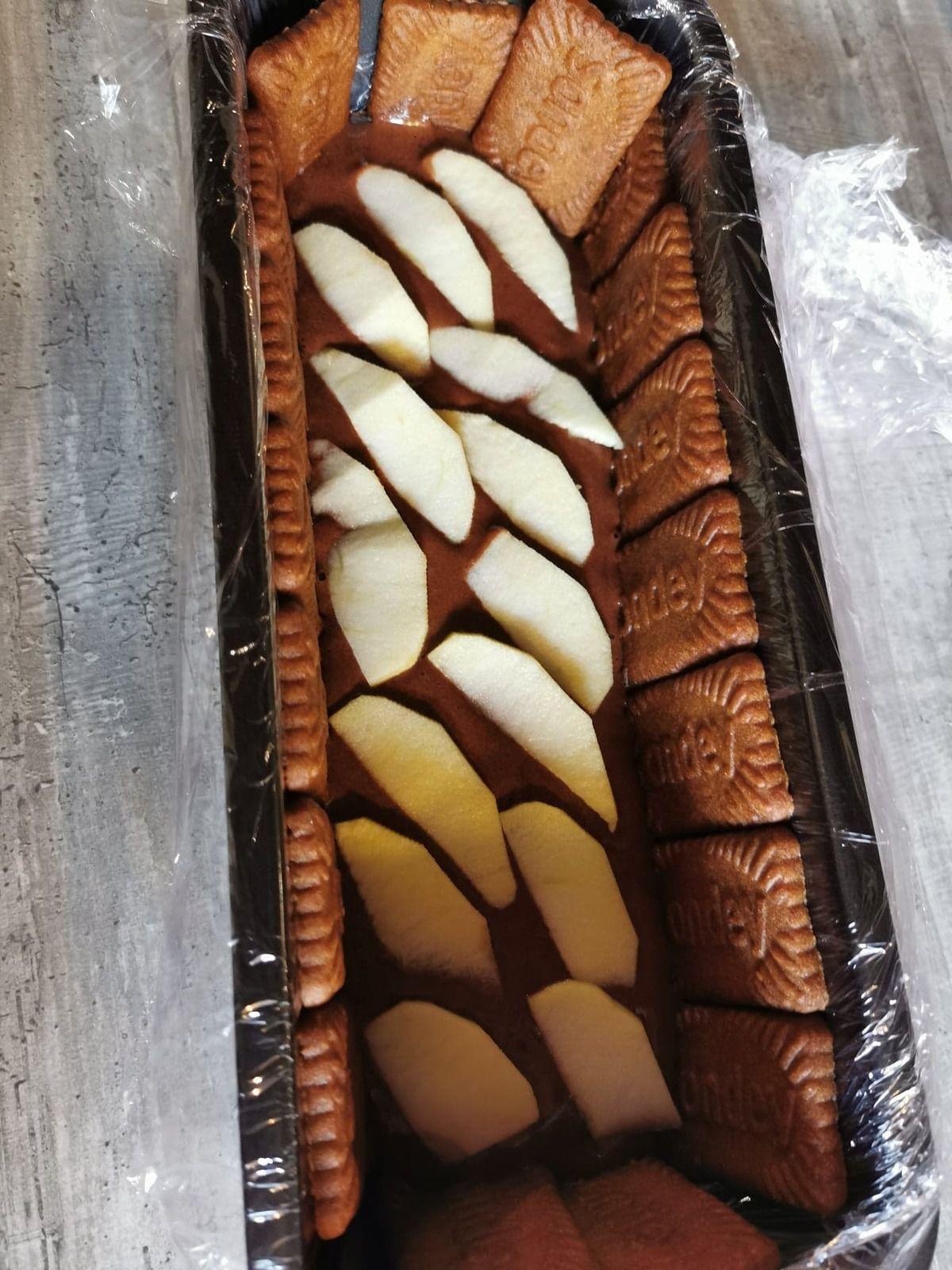 Charlotte chocolat pomme spéculoos