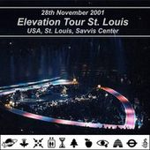 U2 -Elevation Tour -28/11/2001 -St Louis -USA -Savvis Center - U2 BLOG