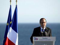 Porte-avion Charles de Gaulle : J Godfrain invité de F Hollande