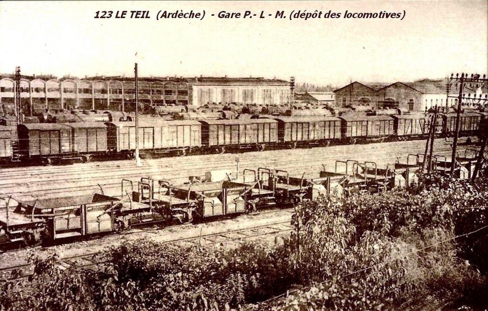 Le-Teil l'ancien dépôt des locomotives (4)