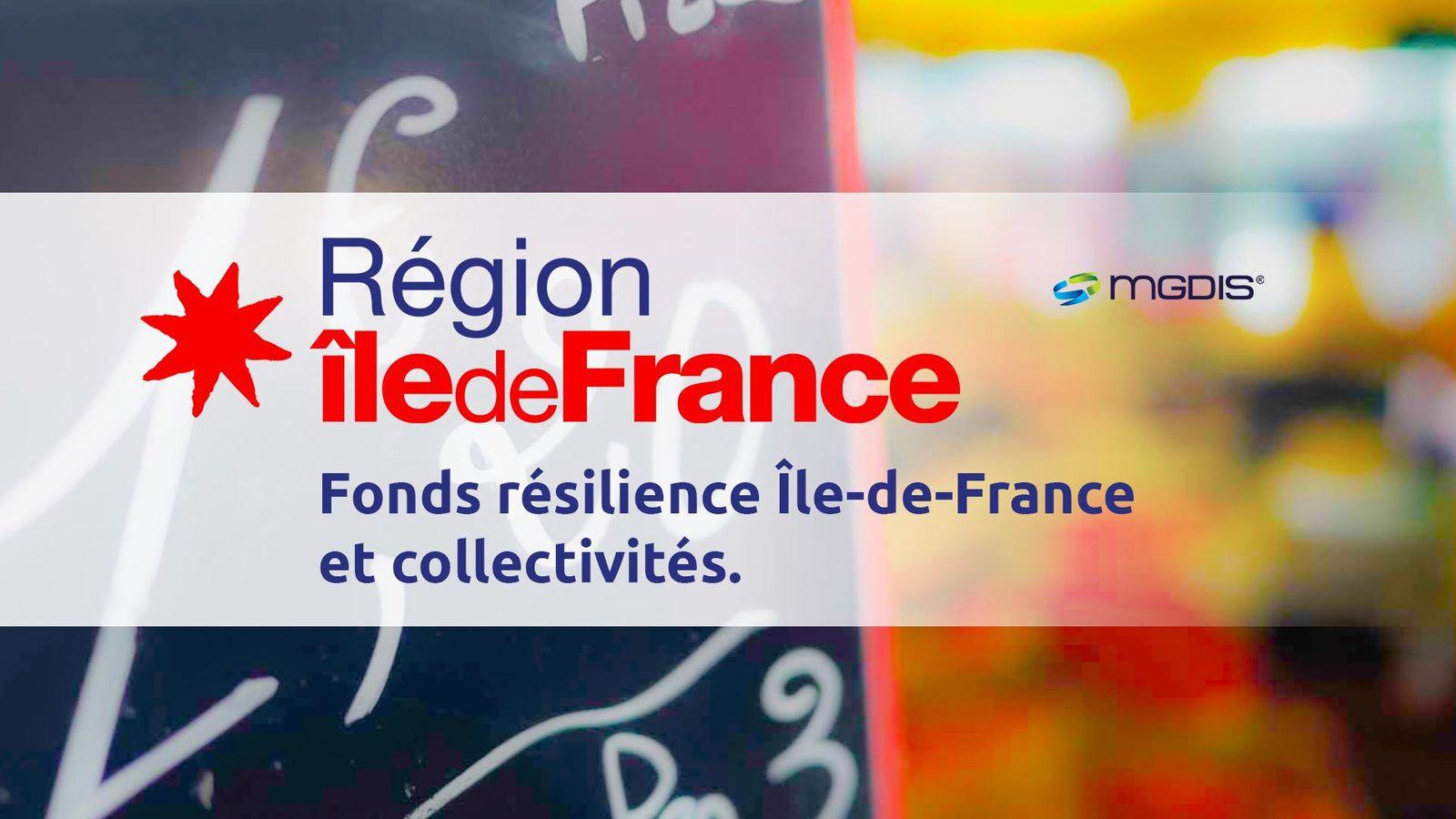Fonds Résilience de la Région Ile-de-France : une aide pour les TPE et associations