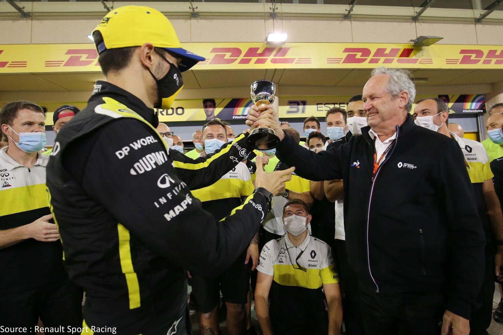 Jérôme Stoll aura vu Renault remonter sur le podium