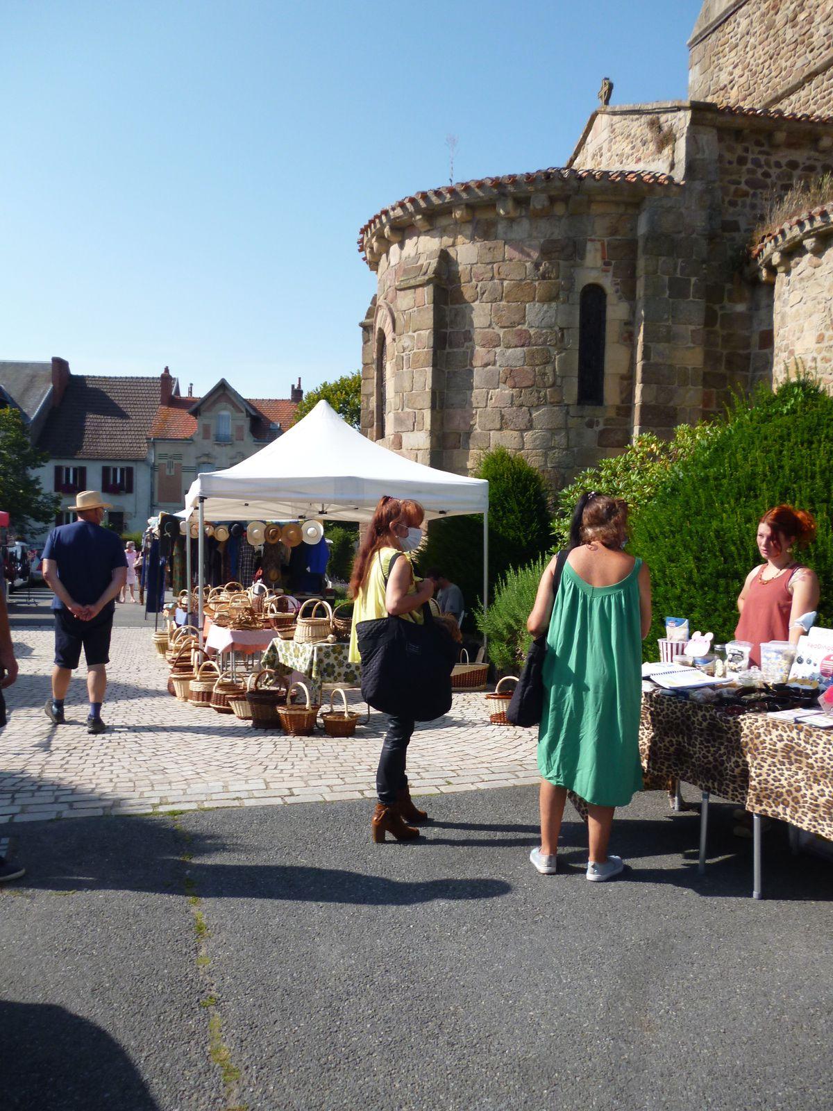 2ème marché artisanal sous le soleil