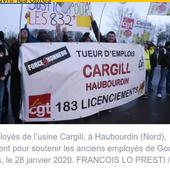 La CGT CARGIL Haubourdin lance un site pour répertorier TOUS les plans de licenciement - Ça n'empêche pas Nicolas
