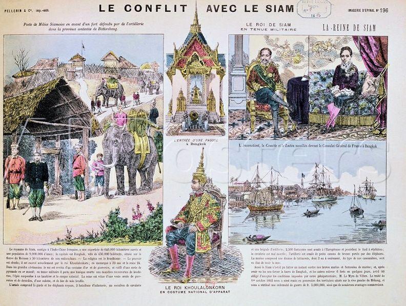 160 ans (?) de relations diplomatiques franco-thaïlandaises