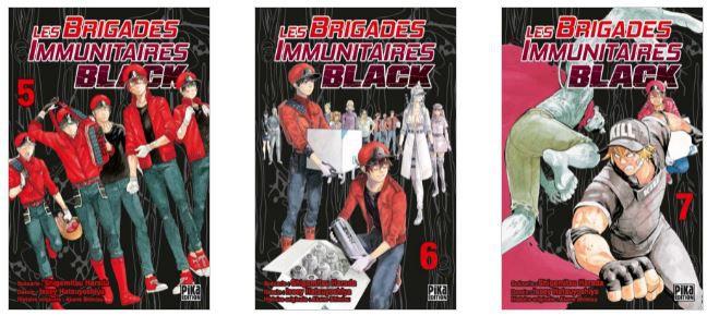 Les brigades immunitaires Black / Tomes 5 à 7