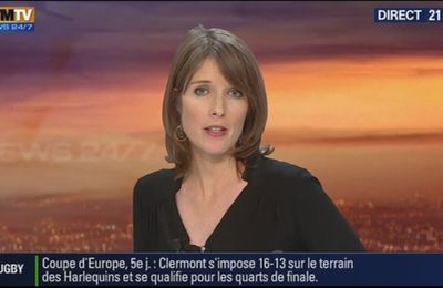2014 01 11 - LUCIE NUTTIN - BFM TV - WEEK-END 360