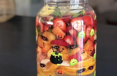 Eau infusée aux fruits