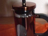 bonVIVO® GAZETARO I, Design-Kaffeebereiter und French Press in Kupfer-Optik aus Edelstahl und Glas, mit Filter, klein, 0,35l/350ml (3 Tassen) im Test...