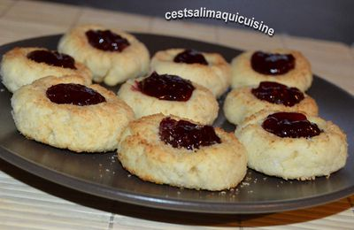 Thumb cookies coco fraise