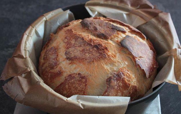 Pain au levain de Manue - cuisson cocotte