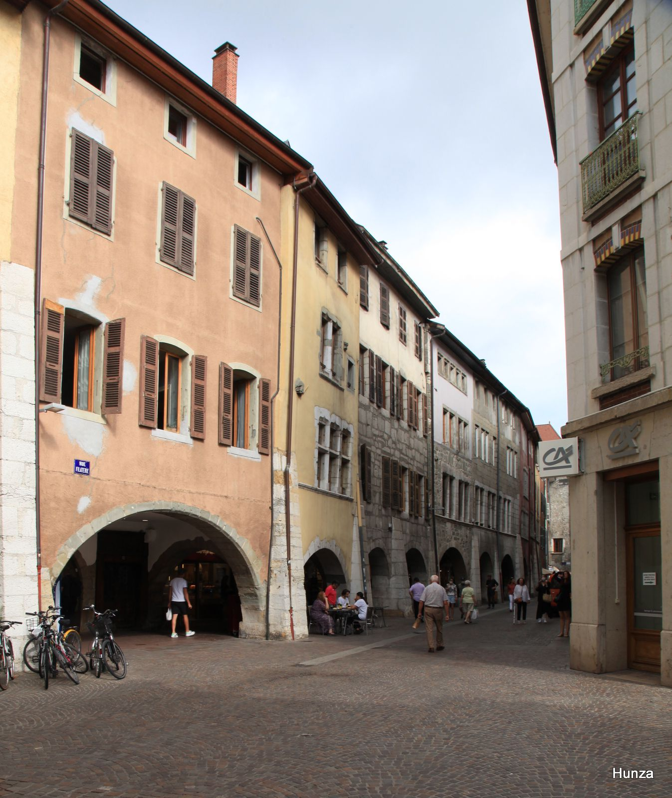 Annecy, rue Filaterie