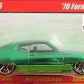 70 FORD TORINO HOT WHEELS 1/64 - car-collector.net