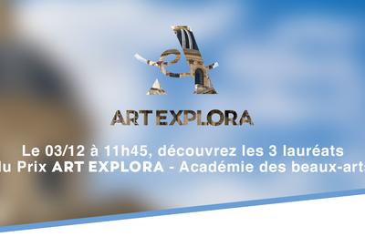 Les présélectionnés du Prix Art Explora - Académie des beaux-arts