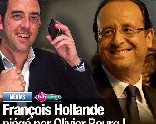 François Hollande piégé par Olivier Bourg !