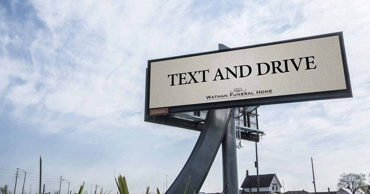 Buzz : Text and drive, la pub qui tue ... ou pas