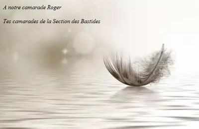 décès de notre camarade Roger Payrastre
