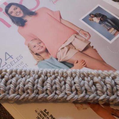 Gilet Phildar : Mon (presque) premier tricot...