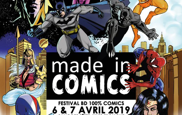Emmessem au Made in Comics 2019