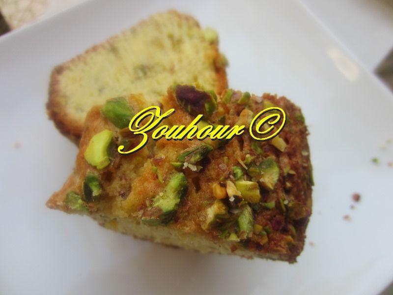 Cake aux pistaches