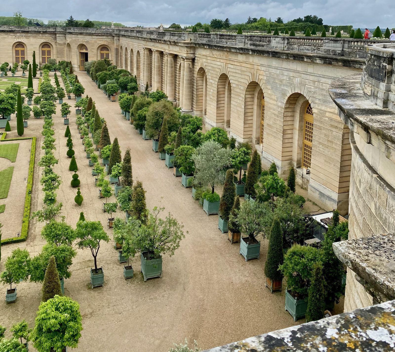 Versailles - Les Grandes Eaux et le Bosquet du Théâtre d'Eau