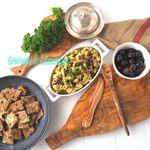 Terrine Vegan aux Pois Chiches, aux Algues et Chou Kale