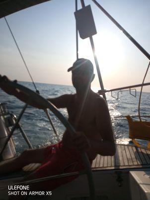 Départ de l'Île d'Yeu pour Belle-île-en-mer.