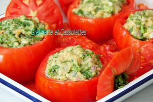 Tomates farcies façon Persillade