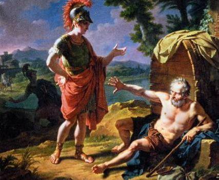 Les philosophes - Platon échoue face à la cour de Denys